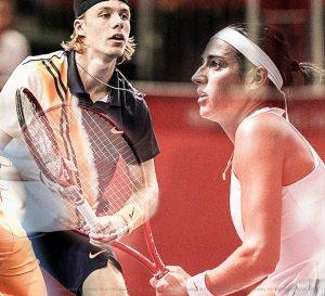 Raquette tennis YONEX - Garcia - Shapovalov